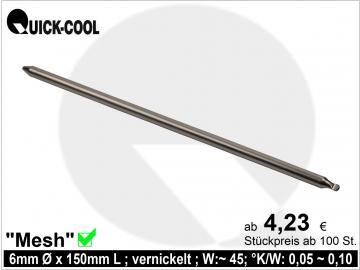 Mesh-Heatpipe 6x150mm