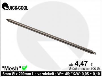 Mesh-Heatpipe 6x200mm