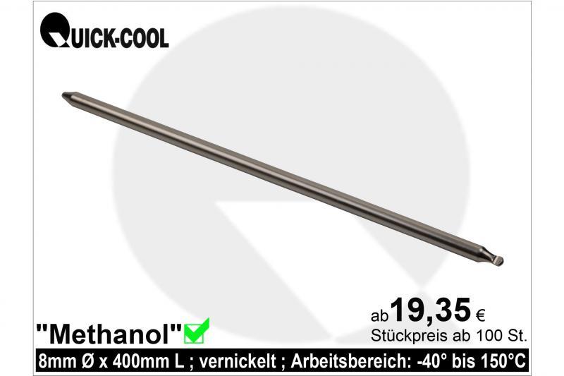 Methanol-Heatpipe-8x400mm