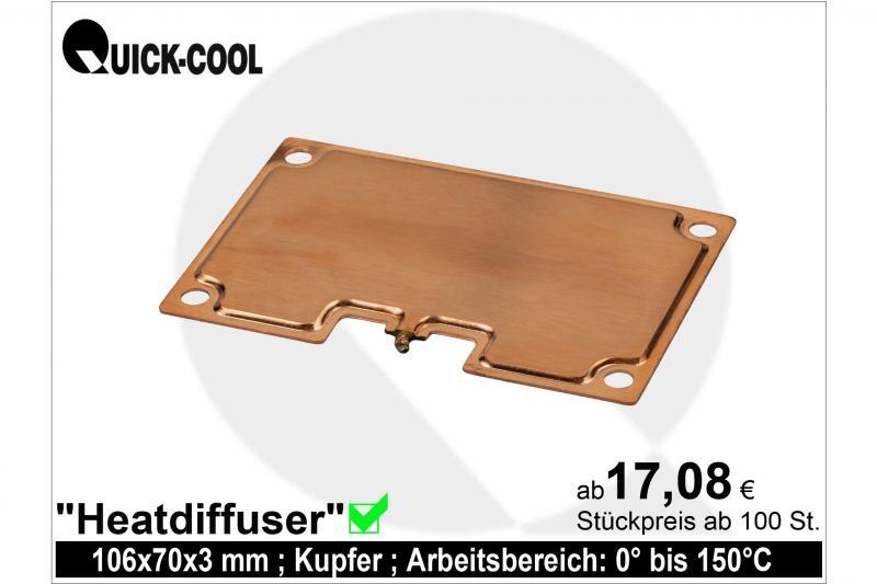 Heatdiffuser rectangular