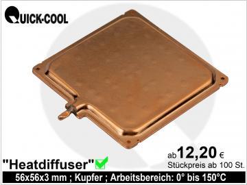 Heatdiffuser-quadratisch