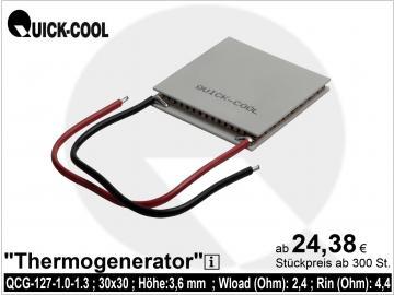 Thermogenerator QCG-127-1.0-1.3