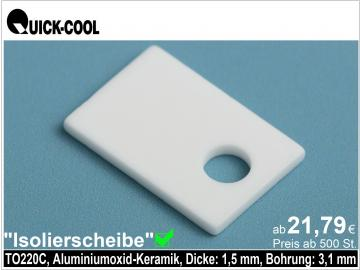 AL2O3-Isolierscheibe-TO220C-1,5mm