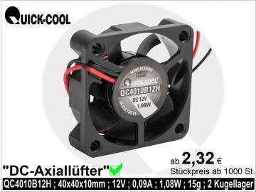DC axial fan-QC4010B12H