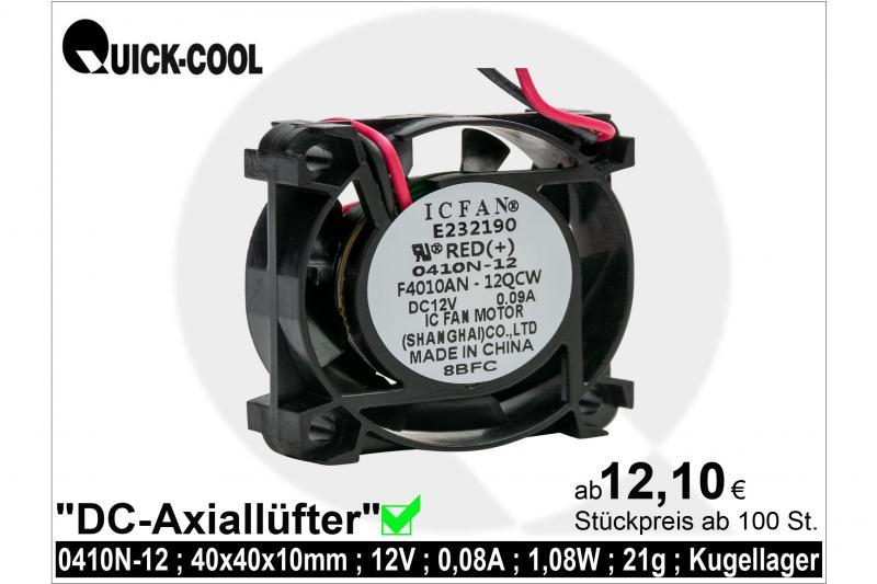 DC axial fan-0410N-12