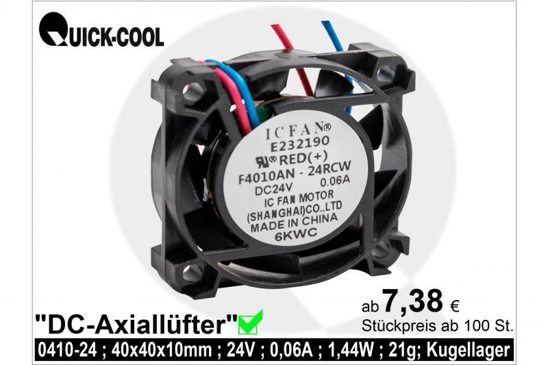 DC axial fan-0410-24