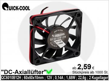 DC axial fan-QC6010B12H