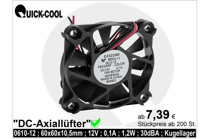 DC axial fan-0610-12