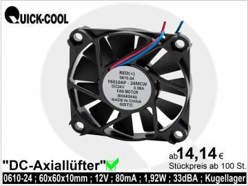DC axial fan-0610-24