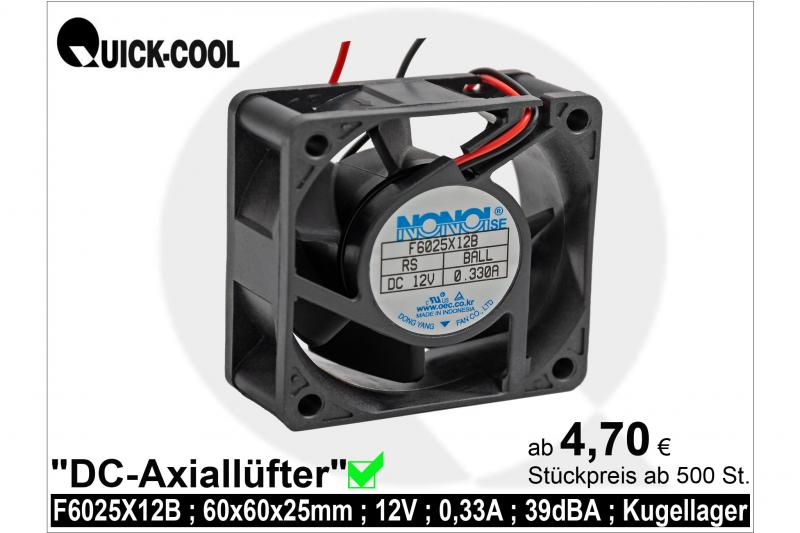 DC axial fan-F6025X12B