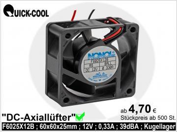 DC axial fan-F6025X12B