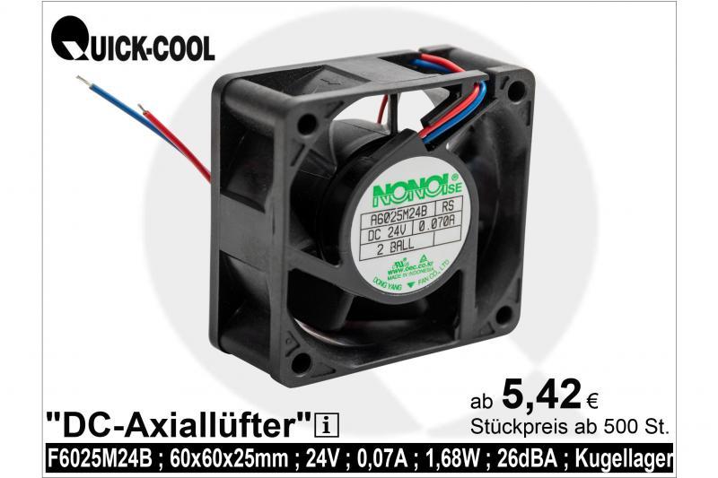 DC axial fan-A6025M24B