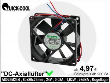 DC axial fan-A8025M24B