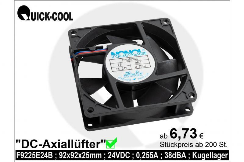 DC axial fan-F9225E24B