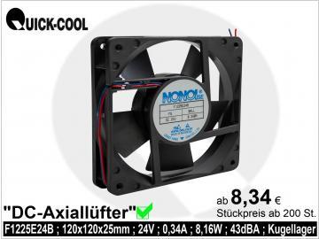 DC axial fan-F1225E24B
