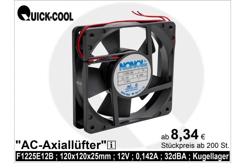 DC axial fan-F1225L12B