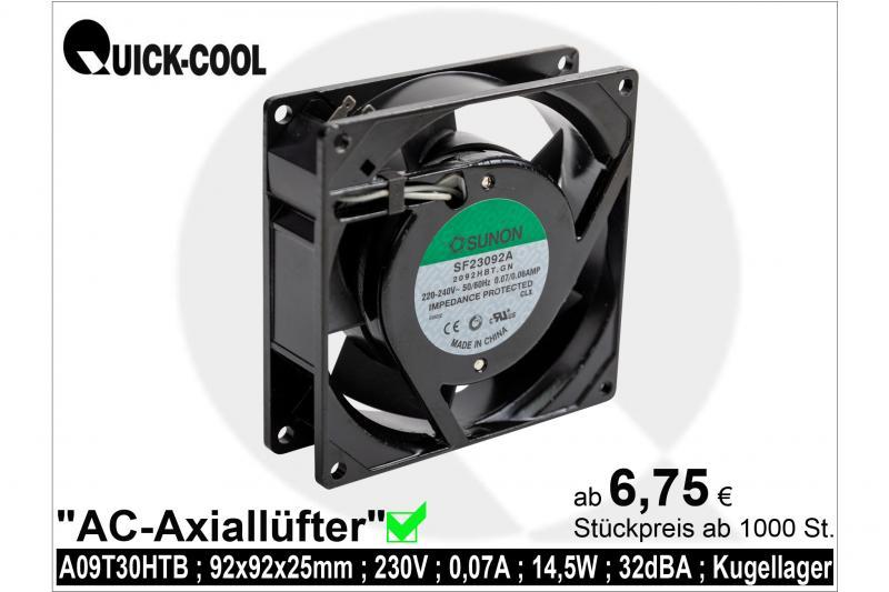 AC axial fan-A09T30HTB