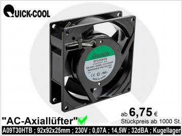 AC axial fan-A09T30HTB
