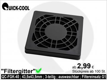 filter grid-QC-FGK-40
