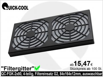 Filtergitter-QC-FGK-2x80