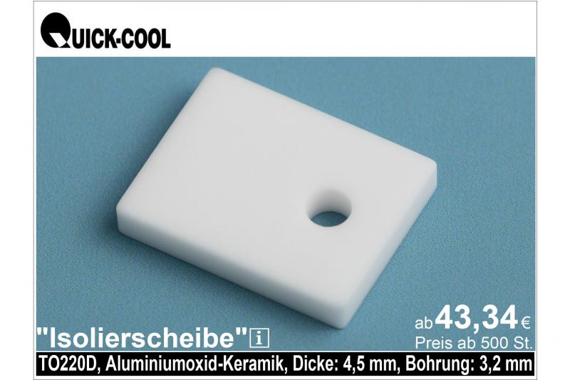AL2O3-Isolierscheibe-TO220D-4,5mm