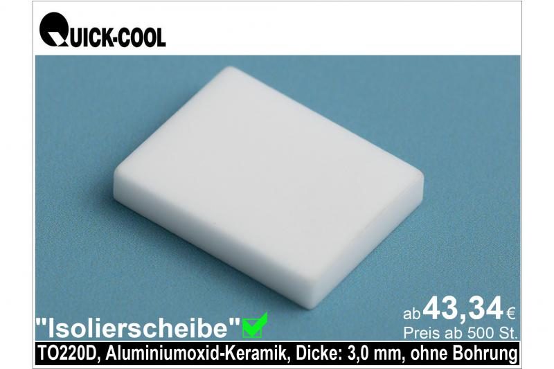 AL2O3-Isolierscheibe-TO220D-3mm