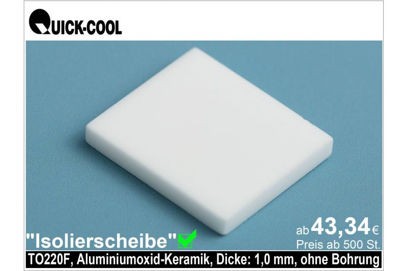 AL2O3-Isolierscheibe-TO220F-1mm