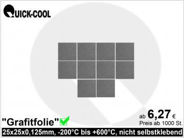Graphitfolie-25x25