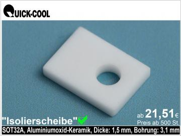 AL2O3-Isolierscheibe-SOT32A-1,5mm
