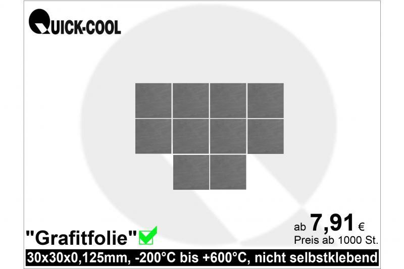 Graphitfolie-30x30