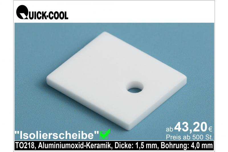 AL2O3-Isolierscheibe-TO218-1,5mm