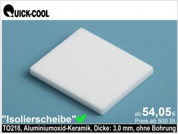 AL2O3-Isolierscheibe-TO218-3mm-OB
