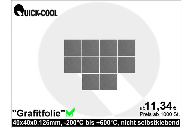 Graphitfolie-40x40