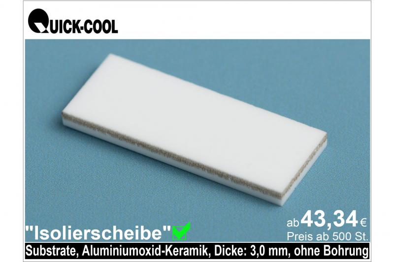 AL2O3-Isolierscheibe-Substrat-3mm