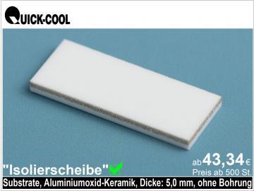 AL2O3-Isolierscheibe-Substrat-5mm