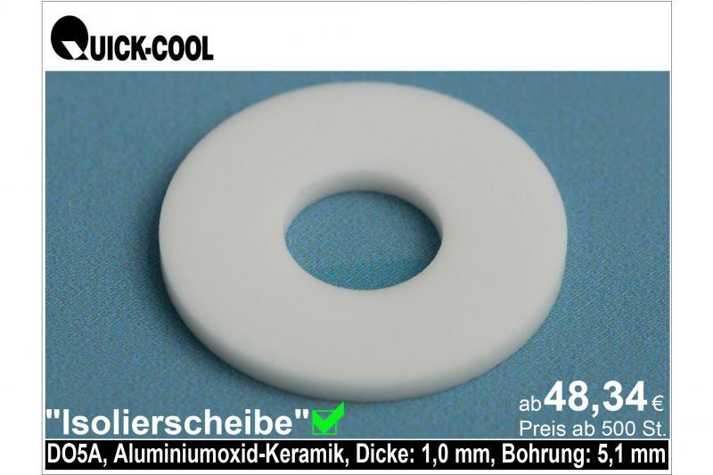 AL2O3-Isolierscheibe-DO5A-1mm