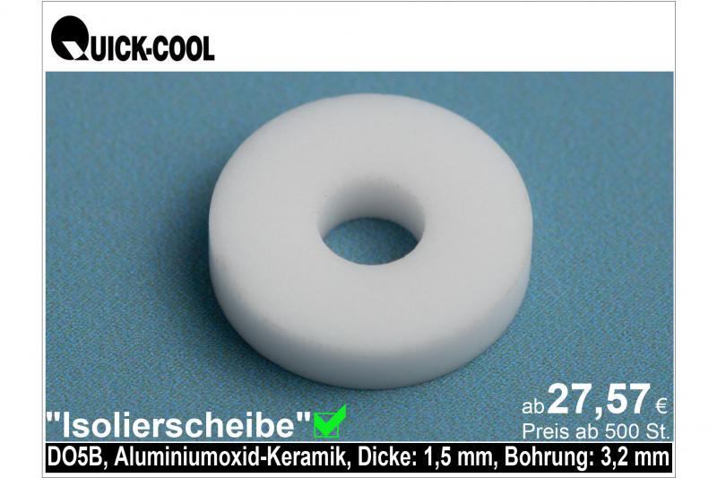 AL2O3-Isolierscheibe-DO5B-1,5mm