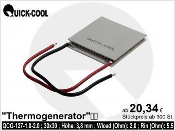 Thermogenerator QCG-127-1.0-1.6
