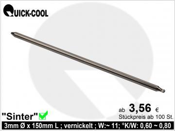 Sinter-Heatpipe 3x150mm