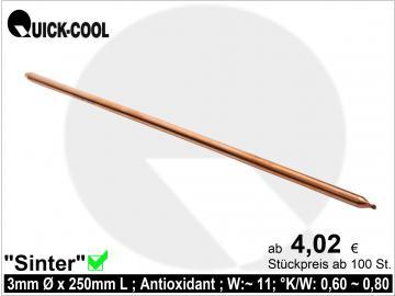 Sinter-Heatpipe 3x250mm