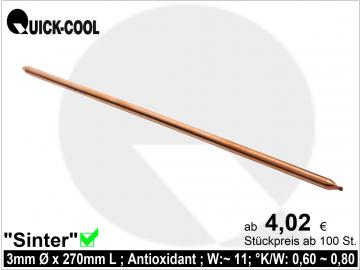 Sinter-Heatpipe 3x270mm