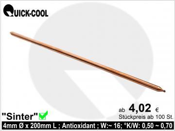 Sinter-Heatpipe 4x200mm