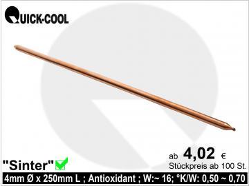Sinter-Heatpipe 4x250mm