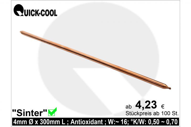 Sinter Heat-Pipe 4x300mm