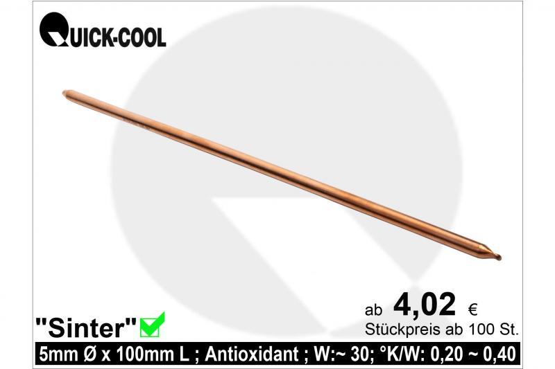 Sinter Heat-Pipes 5x100mm