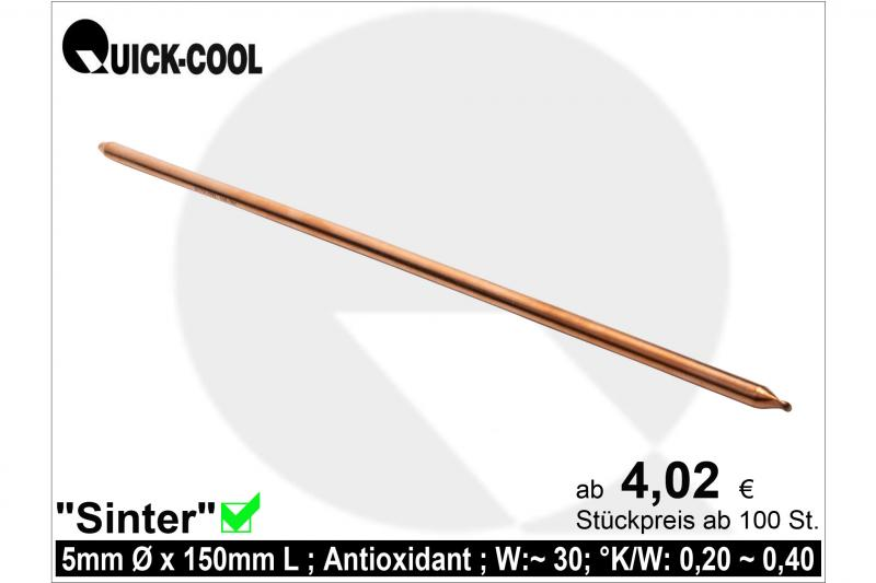 Sinter-Heatpipe-5x150mm