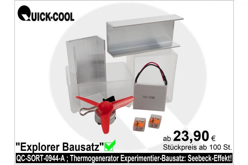 Thermogenerator-Bausatz
