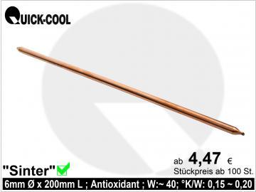 Sinter-Heatpipe 6x200mm