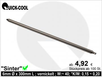 Sinter-Heatpipe 6x300mm