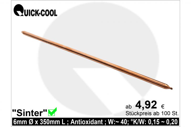 Sinter Heat-Pipe 6x350mm